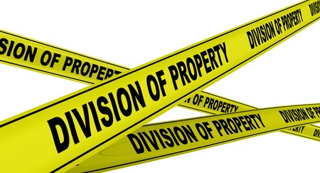 Having documents to support property division in divorce