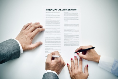 Do prenuptial agreements simplify a divorce?