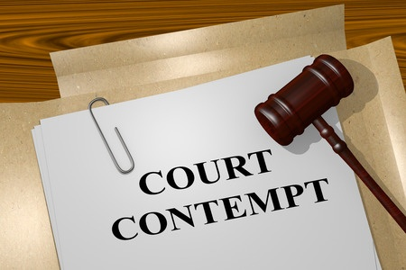 Are You Unable to Comply with a Court's Order?