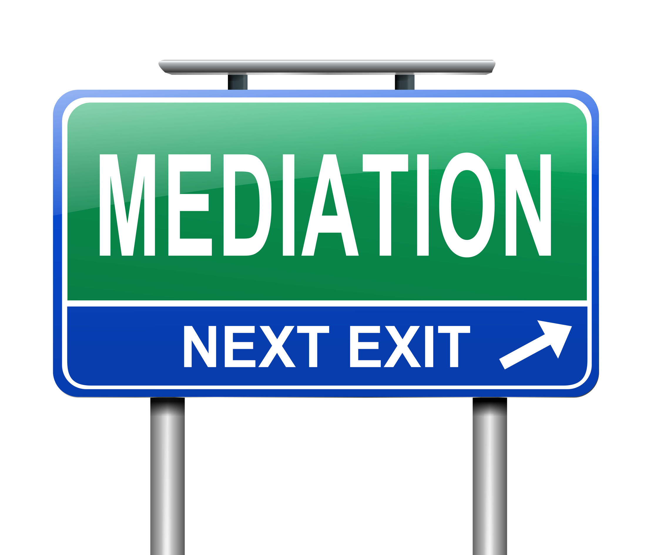 Mediation is designed to get parties to their own agreement