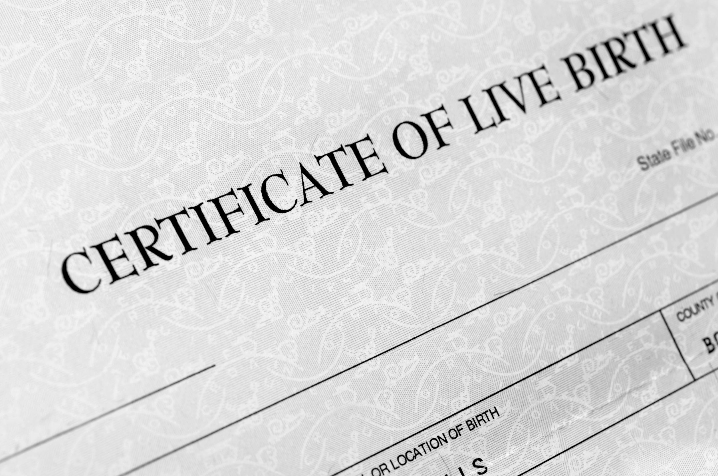 Being on the birth certificate does not equate to enforceable rights