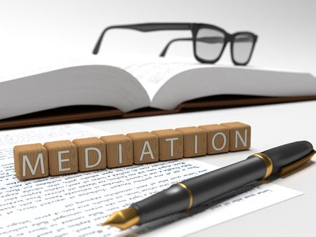 A mediator cannot actually divorce parties